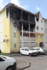 Incendie dans une résidence à Quartier d'Orléans : trois familles sinistrées