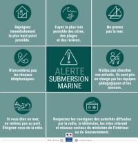 Exercice annuel sur le risque tsunami dans la Caraïbe